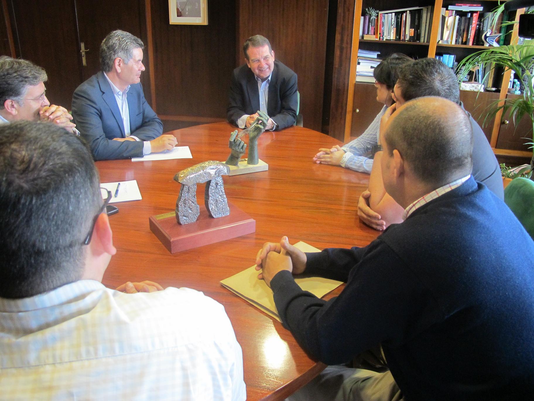 Reunión alcalde