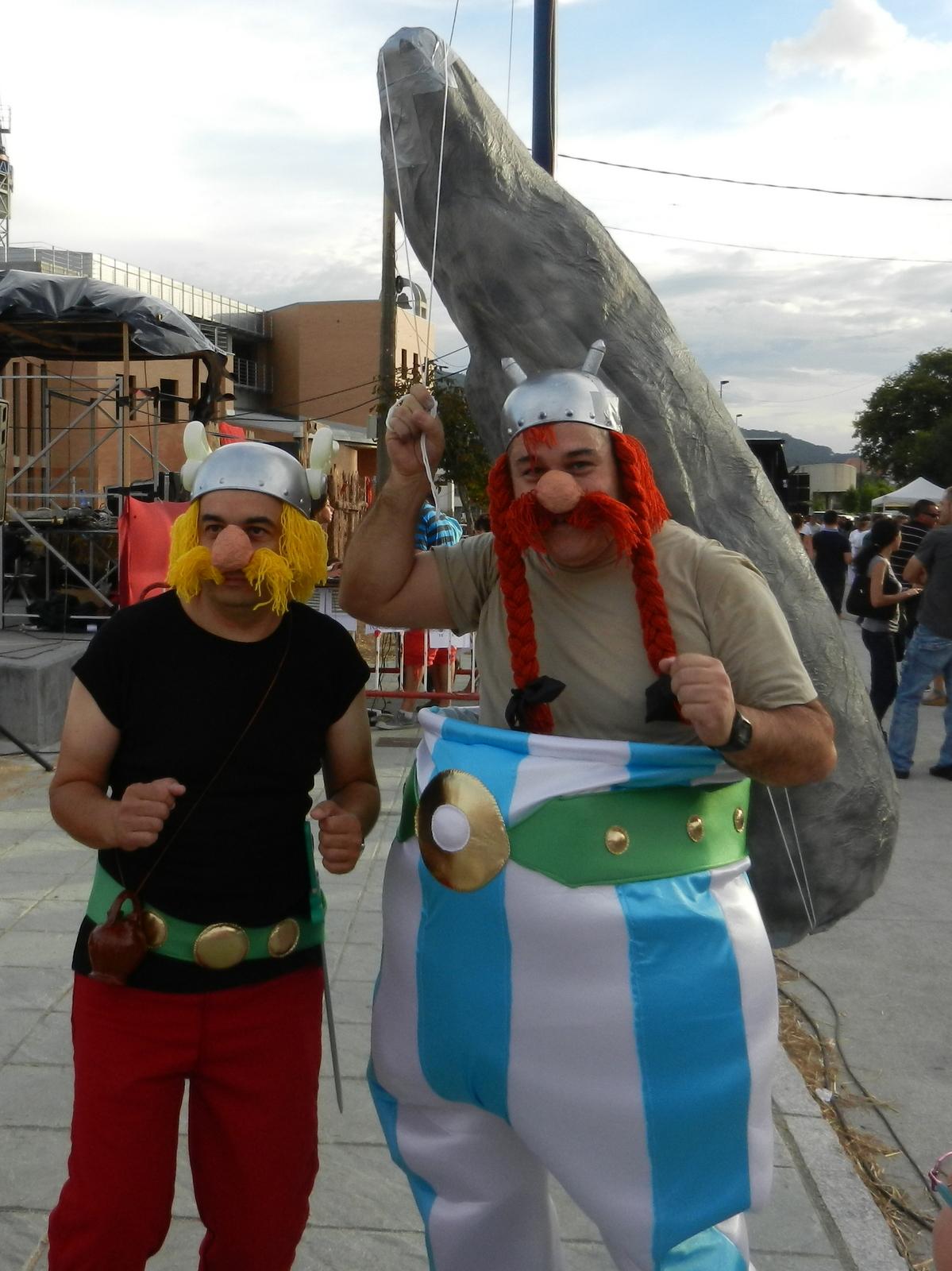 Los galos de la fiesta romana