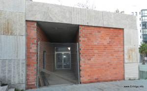 Vista acceso principal-sur biblioteca