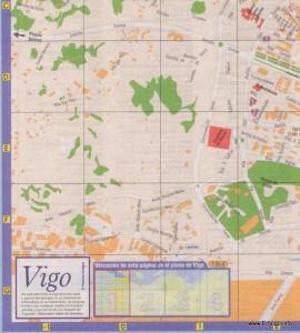 Mapa Vigo1 Páxinas Galegas